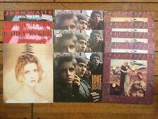 Lone Justice Maria McKee Collector Vinyl LP LOT International Press + Promo flat