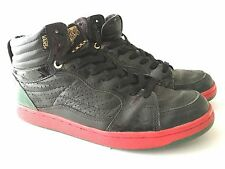 VANS CROOKS AND CASTLES FORTY FOUR HI SHOES SIZE SZ 11 BLACK VINTAGE RARE 2009