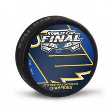 St Louis Blues 2019 Western Conference Champions Playoff Hockey Puck
