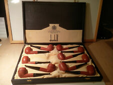 Superbe Coffret à pipes Dunhill - 11 pipes neuves made in France, en Bruyère
