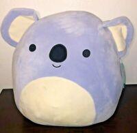 "2020 Kellytoy Squishmallow Koala Bear Purple Soft Plush Pillow 16"""