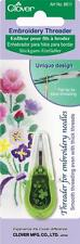 Clover Embroidery Threader Haberdashery Sewing Fabric Tools Equipment