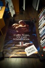 CARTE NOIR COFFEE C 4x6 ft Bus Shelter Original Vintage Food Advertising Poster