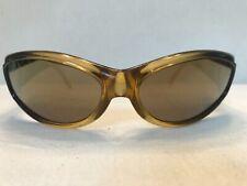 2000s Vintage ARNETTE DEUCE Honey & Black with new Bronze Iridium Lenses Fresh!
