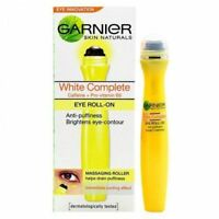 2 X Garnier Skin Natural White Complete Eye Roll On 15 ML ORIGINAL FS