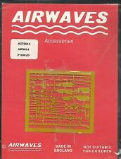 Airwaves Grabado de Metal conjunto de detalle de la víbora 72-14 F-16C/D en escala 1:72