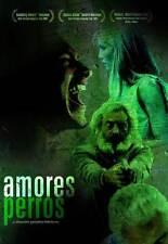 Amores Perros Movie Poster 27x40 B Vanessa Bauche Emilio Echeverria Gael Garcia