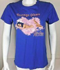 Katy Perry Teenage Dream California Dream Tour 2011 Blue Small T Shirt Mens