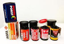 6x35mm Film Agfa XRG 200 Porst Dia 100 Chrome Kodak Ektar 25 Maco UP 400 expired