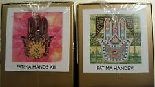 NEW GALLERY 1 Micro Art Box FATIMA HANDS XIII, VI, Artist James Domine Free Ship