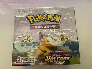 Pokémon TCG Sword & Shield Vivid Voltage Booster Box 36 Packs Ready to Ship!