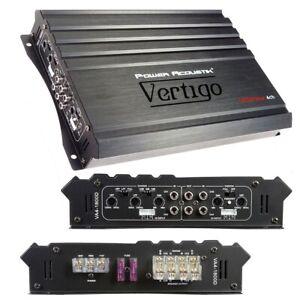 POWER ACOUSTIK VA4-1800D Power Acoustik Vertigo Series 4 Channel Amplifier 18...