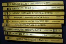VINTAGE LOT OF 9 BARNABAS COLLINS MARILYN ROSS PB'S 7 1ST PRINTS 1969-70