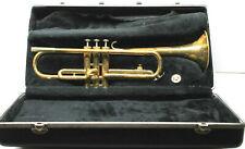 The Selmer Company USA Trumpet 72267 ML Brass w/ Holton Mouthpiece+Case Vintage