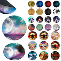 Round Circle Rubber Mousepad Mice Pad Mat PC Laptop For Optical Laser Mouse