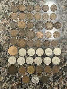 Canada 51 coin lot - Early 1900s