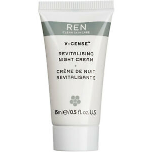 REN V-Cense Revitalising Night Cream 15ml GWP Size NEW