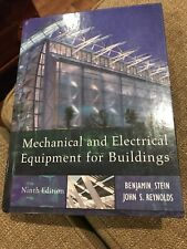 Mechanical and Electrical Equipment for Buildings by Stein 9th Edition 2000