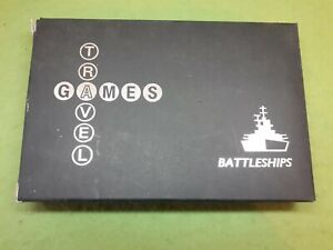 Authentics Travel Games - Magnetic Battleships Complete & with original box