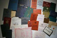 Konvolut Sammlung Dokumente Urkunden Ausweis UdSSR Sowjetunion Russland СССР 03