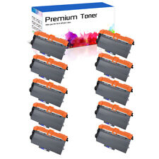 10PK High Yield TN750 Toner for Brother TN-750 HL-5450DN MFC-8510DN MFC-8810DW