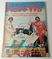 Dune Buggies and Hot VWs Magazine - November 1979 - Off-Road World Championships