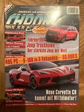 Chrom & Flammen 09/19 Ford Mustang Chevrolet Camaro Corvette Jeep Trackhawk