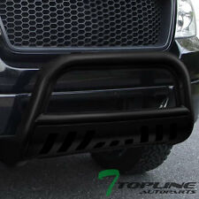 MATTE BLK HD STEEL BULL BAR BRUSH BUMPER GRILL GRILLE GUARD 2004-2016 FORD F150