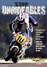 Unrideables DVD 1980s Suzuki Honda Yamaha 2-stroke GP racing motorcycles *NEW