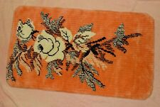 "Prudential Industries~Loom Tuft~Bathroom Rug~24"" x 41""~excellent condition~Vtg"