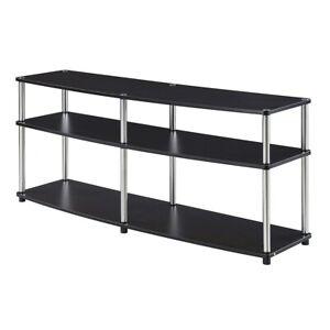 """Convenience Concepts Designs2Go 3 Tier 60"""" TV Stand, Espresso - 131060ES"""