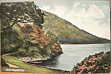 Irish Postcard GLENA BAY Lakes of KILLARNEY Ireland Lawrence Color Roto Germany