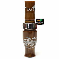 TIM GROUNDS TRIPLE THANG GOOSE CALL GOLD NUGGET ACRYLIC SHORT REED