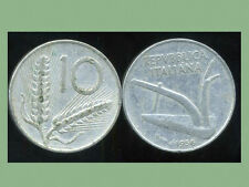 ITALIE  ITALY  10 lire 1956
