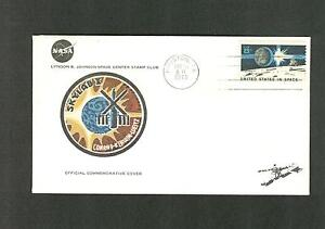 SKYLAB I SPACE COVER - CONRAD - KERWIN - WEITZ MAY 25, 1973 COMMEMORATIVE COVER