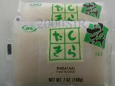 JFC Shirataki Konnyaku Miracle Noodles  Zero Carb 7oz NEW STOCK Free SHIPPING