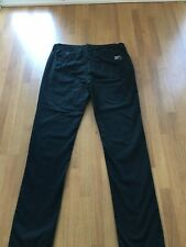 Mens Navy Blue Superdry Size Large Chinos  Button Fasten
