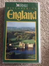 READERS DIGEST DISCOVERING ENGLAND  VHS VIDEO