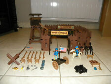 playmobil fort Rendall, lot, western