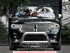 11-2015 Dodge Durango Stainless lBull Bar Grill Guard Front Bumper Protector