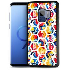 ( For Samsung S9 ) Back Case Cover AJ12602 Abstract Cell