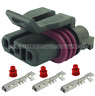 HOLDEN COMMODORE LS1 LS2 6.0 CRANK ANGLE POSITION SENSOR CONNECTOR PLUG 3pin