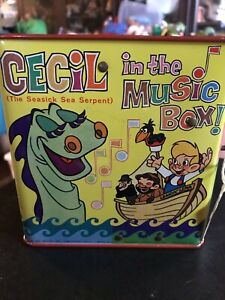 Vintage Cecil the Seasick Sea Serpent in the Music Box Mattel Music Doesn't Work