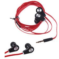 3.5mm Stereo In-Ear Headset Earbud Headphone Earphone For Phone iPhone iPod MP3