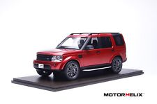1/18 MotorHelix Land Rover Discovery 4 in Red