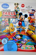 Mickey Mouse Clubhouse Birthday Table Decoration 1st Birthday Party Supplies