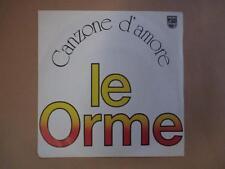 le Orme, Canzone d'amore, prog psych, p/s, rare Italian pressing