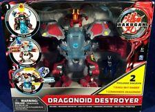 Dragonoid Destroyer Bakugan Mechtanium Surge Baku Sky Raider Commandix Transfom