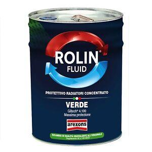 ANTIGELO ROLIN FLUID VERDE PROTETTIVO RADIATORI AREXONS 20 LT