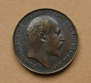 EDWARD VII. ONE FARTHING 1908.
